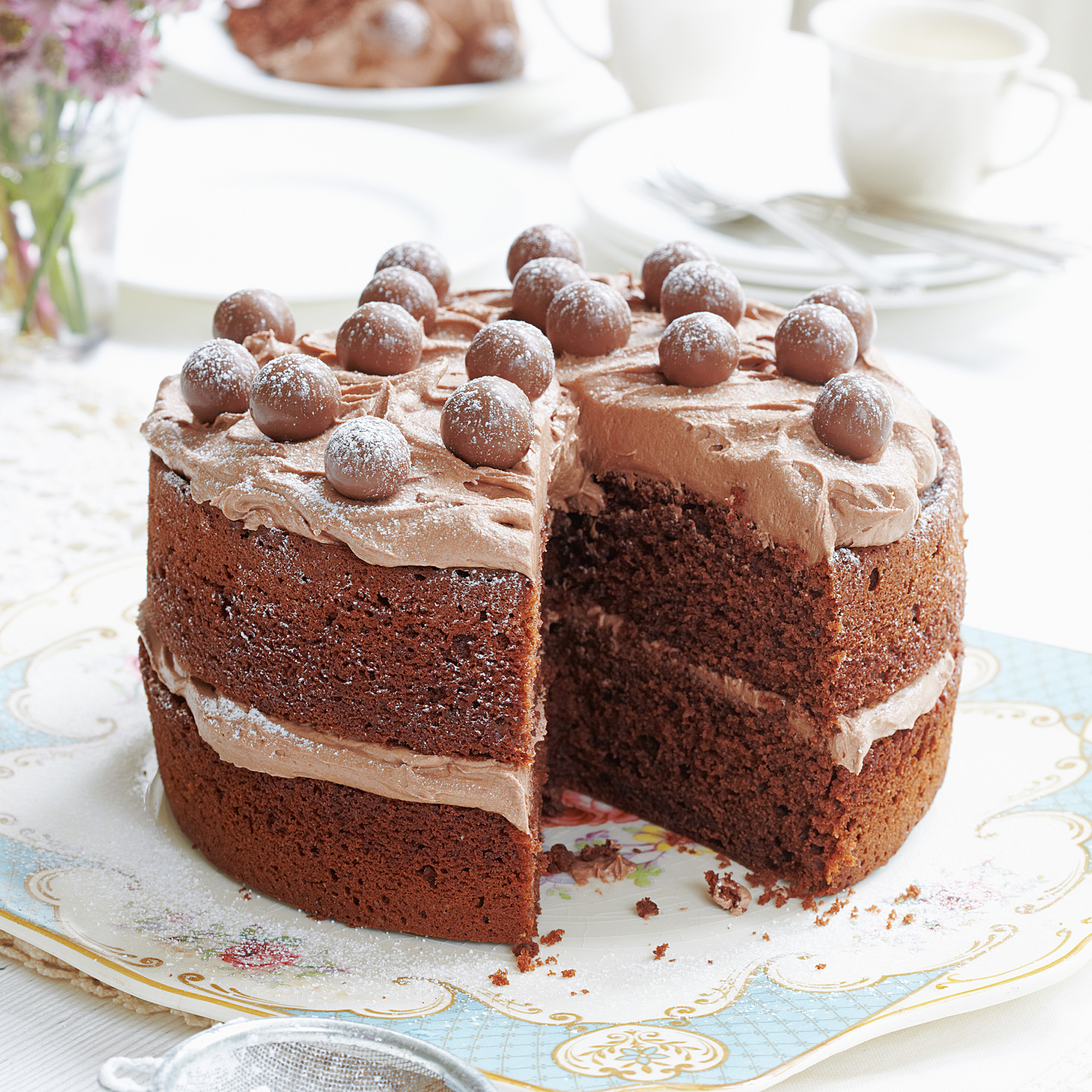 Hot Chocolates Cake Bread