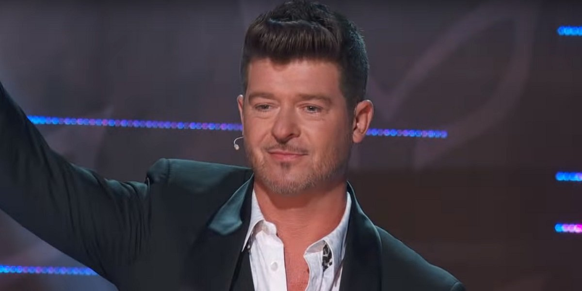 Robin Thicke The Masked Singer Fox