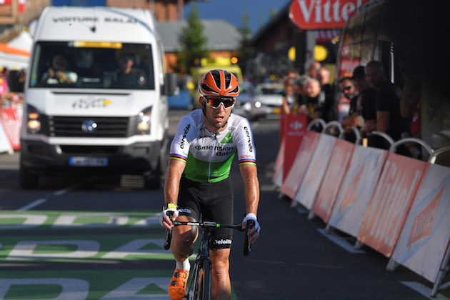 Why did the winner of the tour de france disappear
