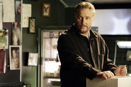 William Petersen bids farewell to the lab on CSI