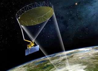 NASA's SMAP satellite is designed to map Earth's soil moisture once every three days or less. It's scheduled to launch on Jann. 29, 2015.