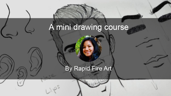 Free drawing tutorials will help you create the perfect portrait