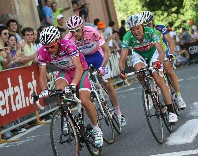 Danilo Di Luca Stefano Garzelli Giro 2009 stage 14