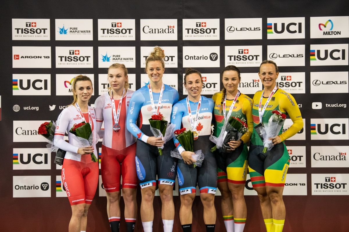 Track World Cup Milton: France doubles up in team events