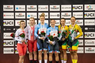 Canada tops the women's team sprint podium