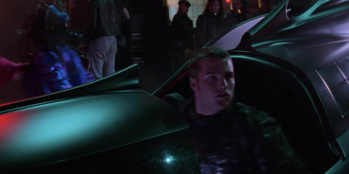 Chris O'Donnell as Dick Grayson/Robin in Batman Forever