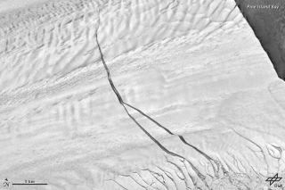 Pine Island Glacier September 2012