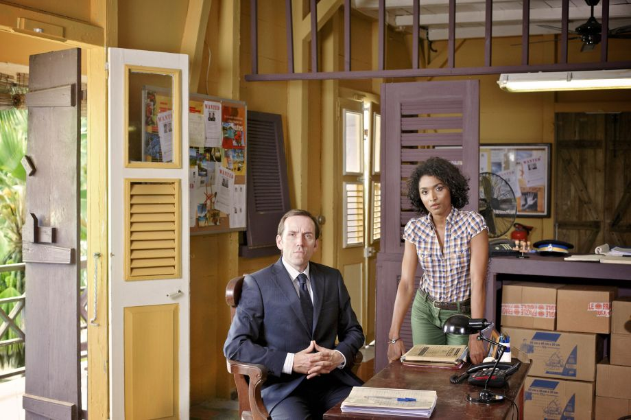 Death in Paradise original stars Camille and Richard Poole