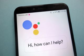 Google Assistant on a smartphone