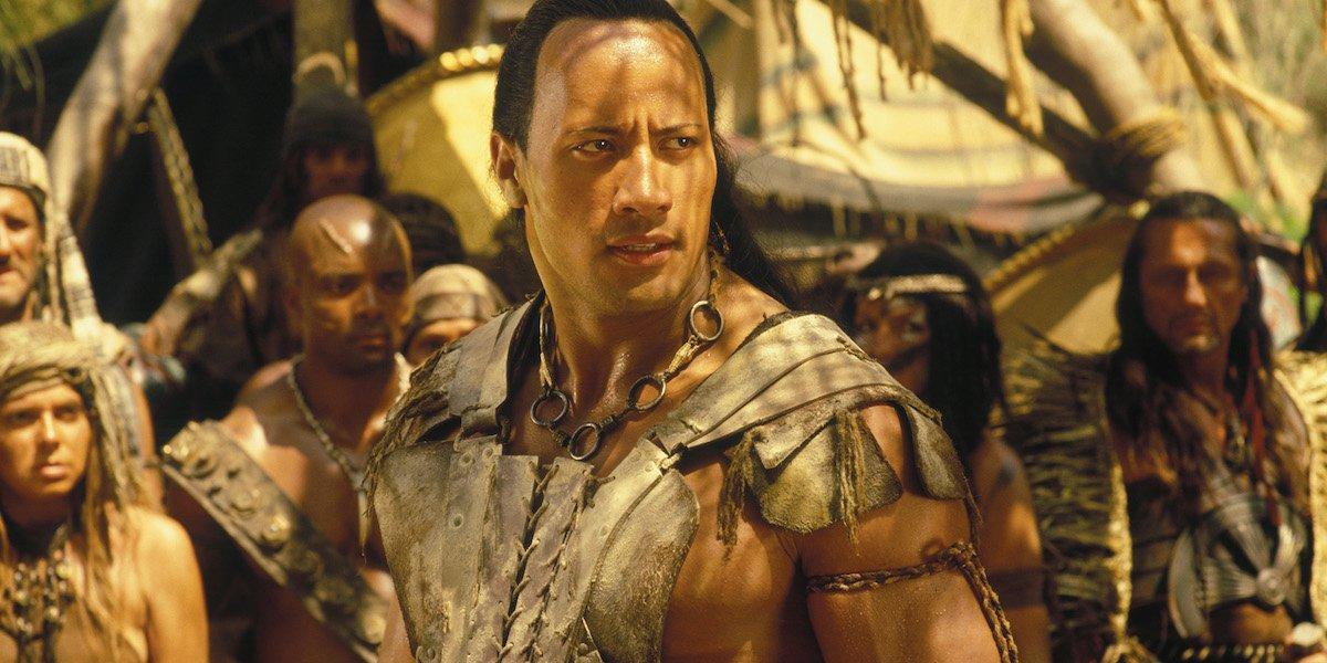 Dwayne Johnson as Scorpion King