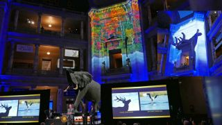 Pixel Curating and Pixel Mapping at the Smithsonian with Epson