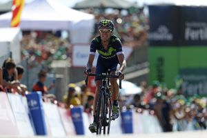 Pro riders call Vuelta finish 'the steepest climb I've ever done' –but at least it was short