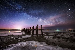 Sandy Point meteor, photography