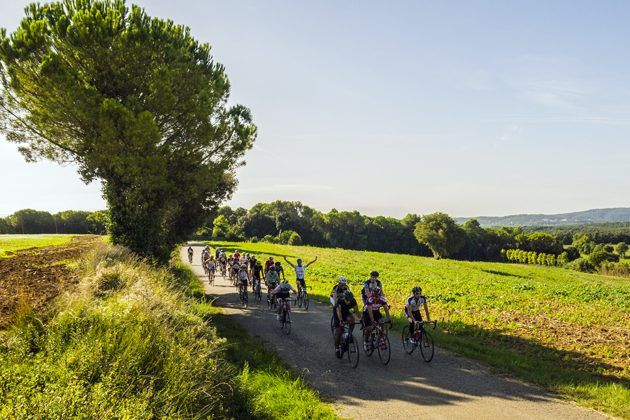 Girona bike group ride