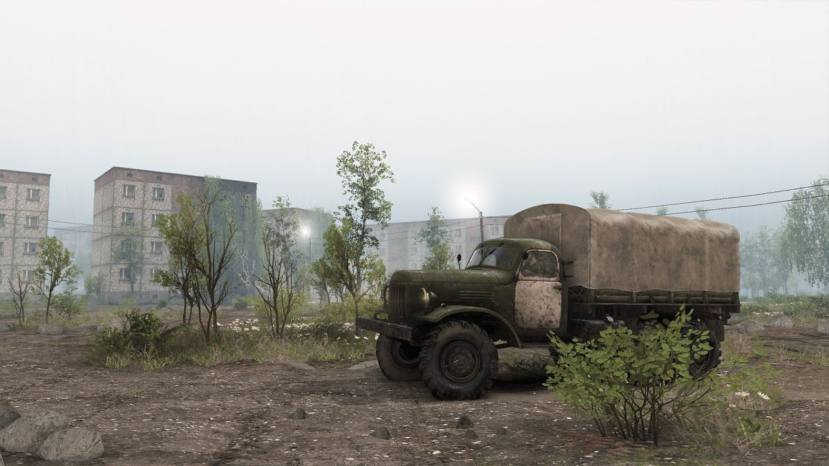 Spintires is driving to Chernobyl in its latest expansion