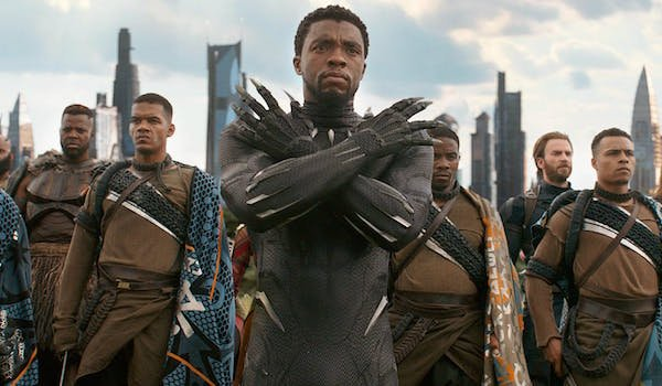 Black Panther in Infinity War