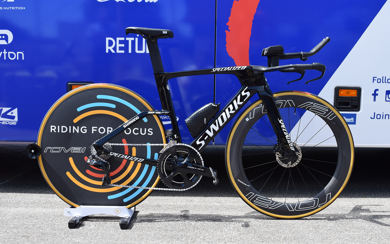 Tour De France Bikes Julian Alaphilippe S Specialized S Works Shiv Tt Cyclingnews