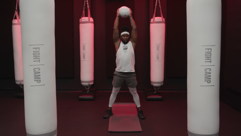10-Minute Killer Medicine Ball Full Body Workout by FightCamp trainer PJ Shirdan