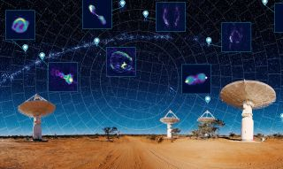 The ASKAP radio telescope array, located in the Australian outback, just mapped 3 million galaxies in less than a month.