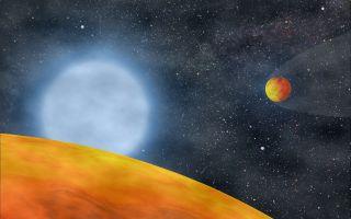 alien planets red giant koi55