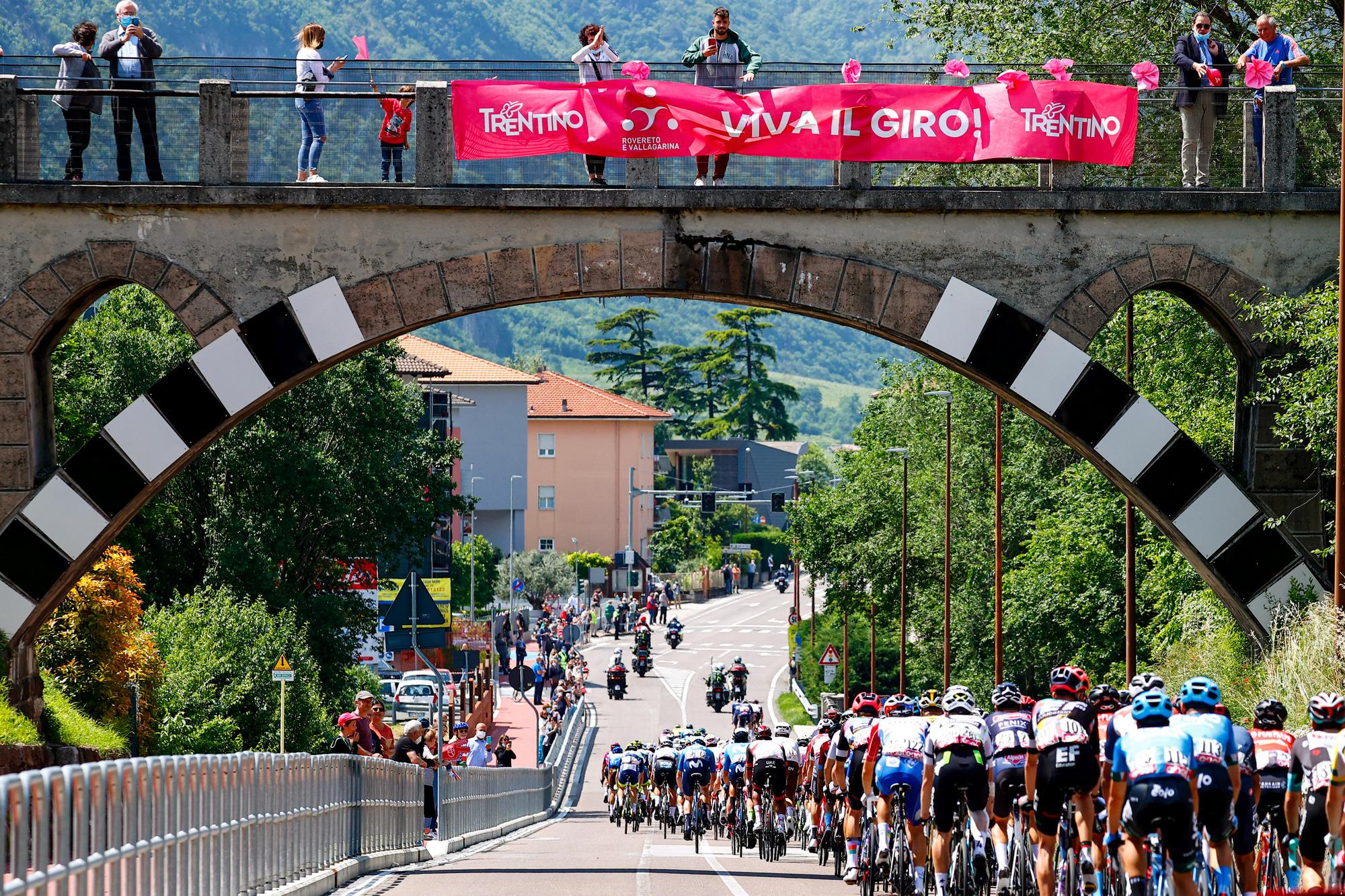 Giro d Italia 2021 104th Edition 18th stage Rovereto Stradella 231 km 27052021 Scenery photo Luca BettiniBettiniPhoto2021