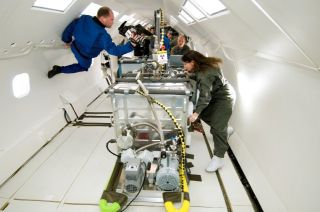 Additive Manufacturing Microgravity Test
