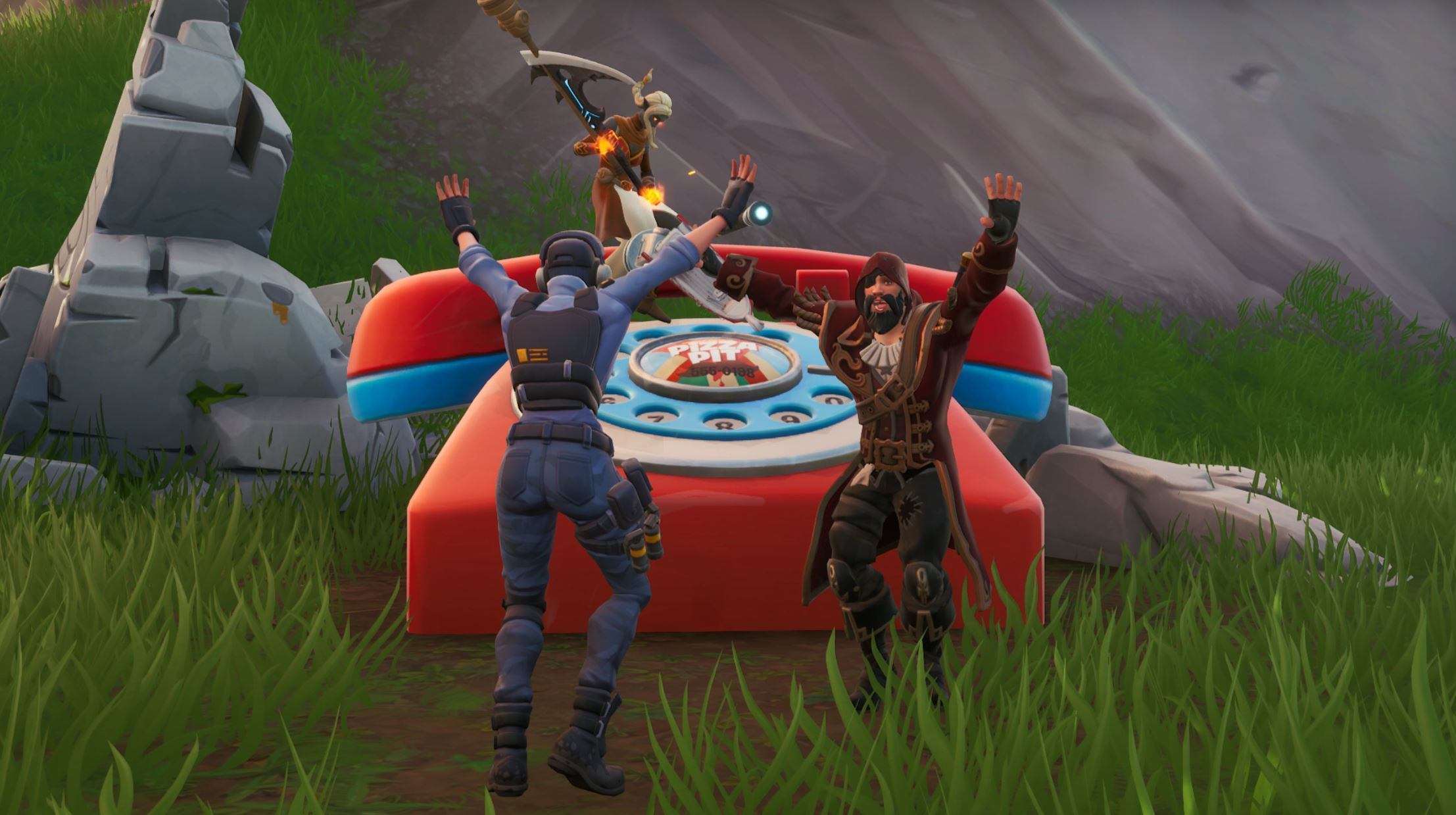 Fortnite: Phone and phone number locations | PC Gamer