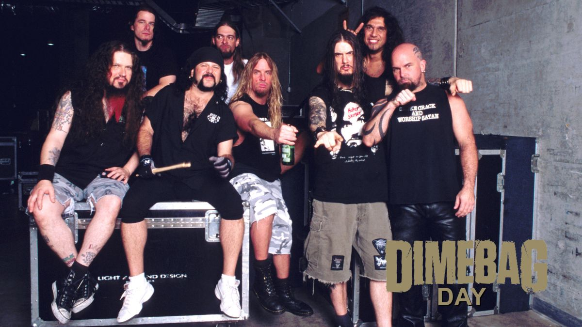 """Dimebag day: """"He was a natural, but he put tonnes of time into it"""" – Slayer's Kerry King remembers Dimebag Darrell"""