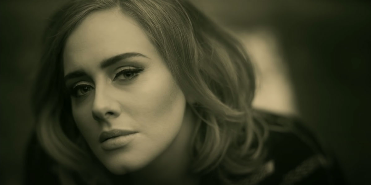 Adele Hello video screenshot 2015