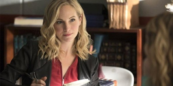 Candice King plays Caroline Forbes in The Vampire Diaries The CW
