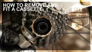 Lezyne How to remove a cassette