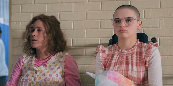 gypsy rose on her laptop hulu's the act