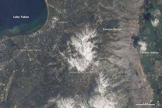 earthquake risk, Lake Tahoe