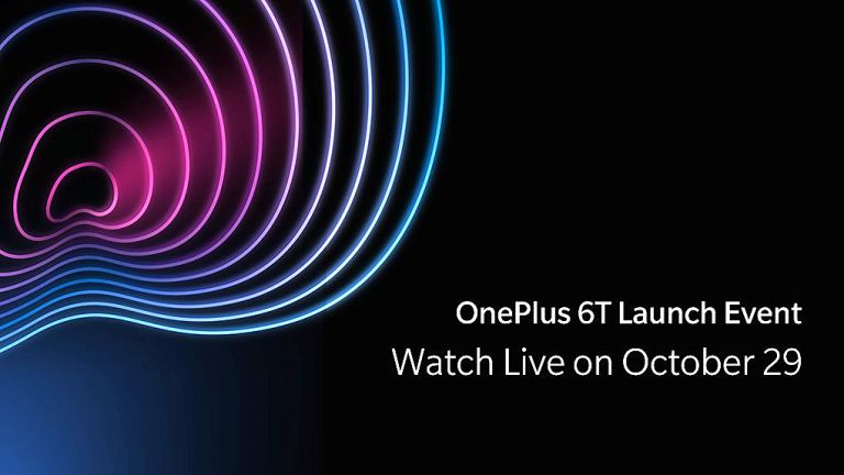 OnePlus 6T India Launch Set for Tonight