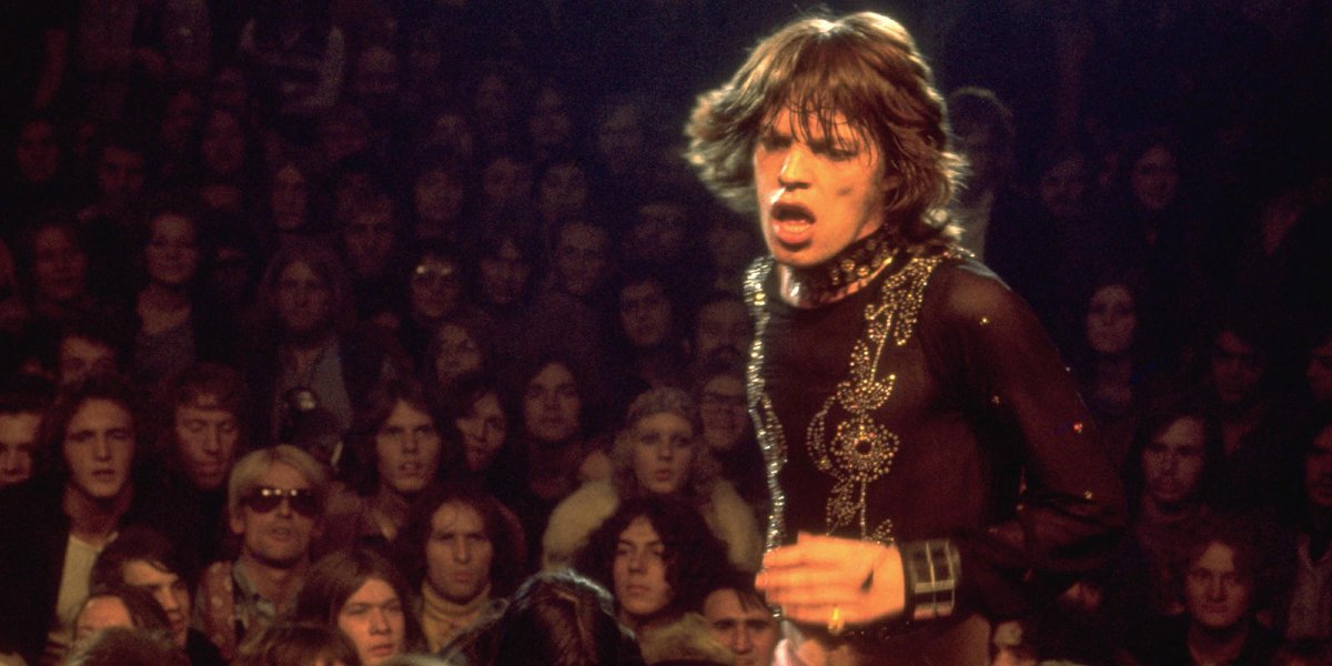 Mick Jagger in Gimme Shelter