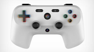 Imagine trying to hold this mockup Google controller