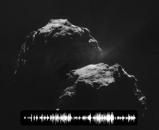 Waveform of Comet 67P's 'Song'