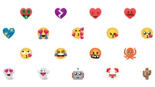 New Android emoji