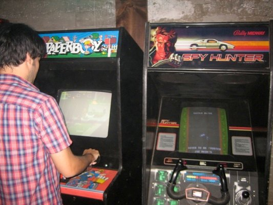 Comic Con: Flynn Lives And He's Reopened His Arcade! #1659
