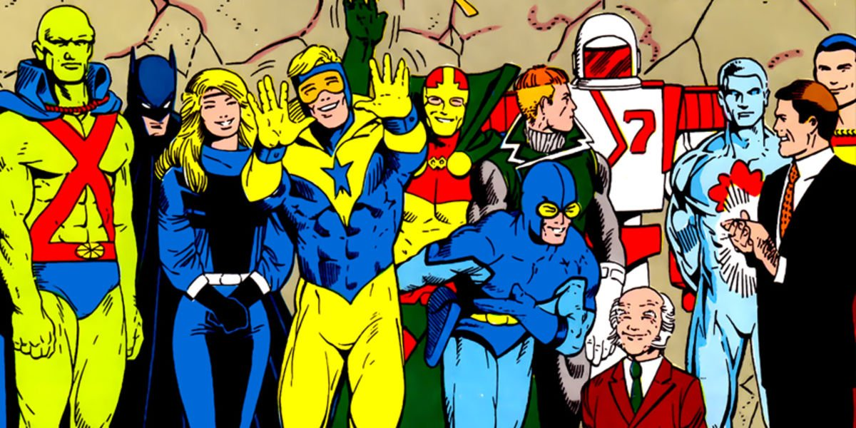 Maxwell Lord with Justice League International