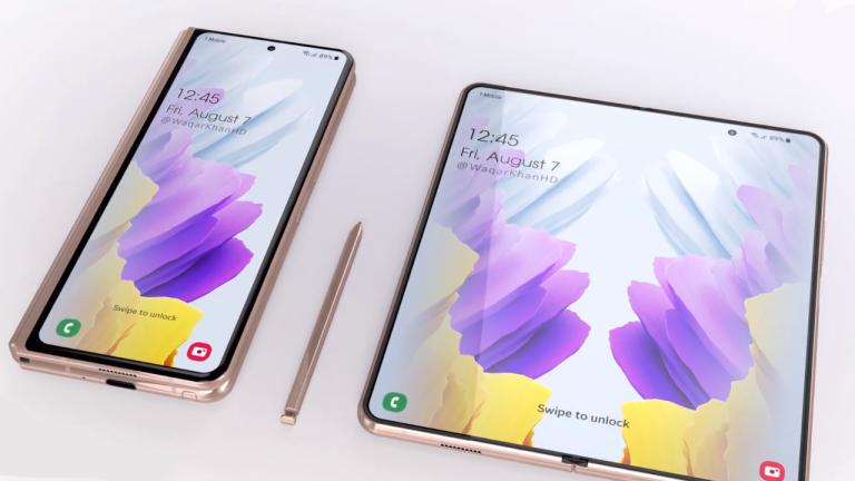 Samsung Galaxy Z Fold 3 concept