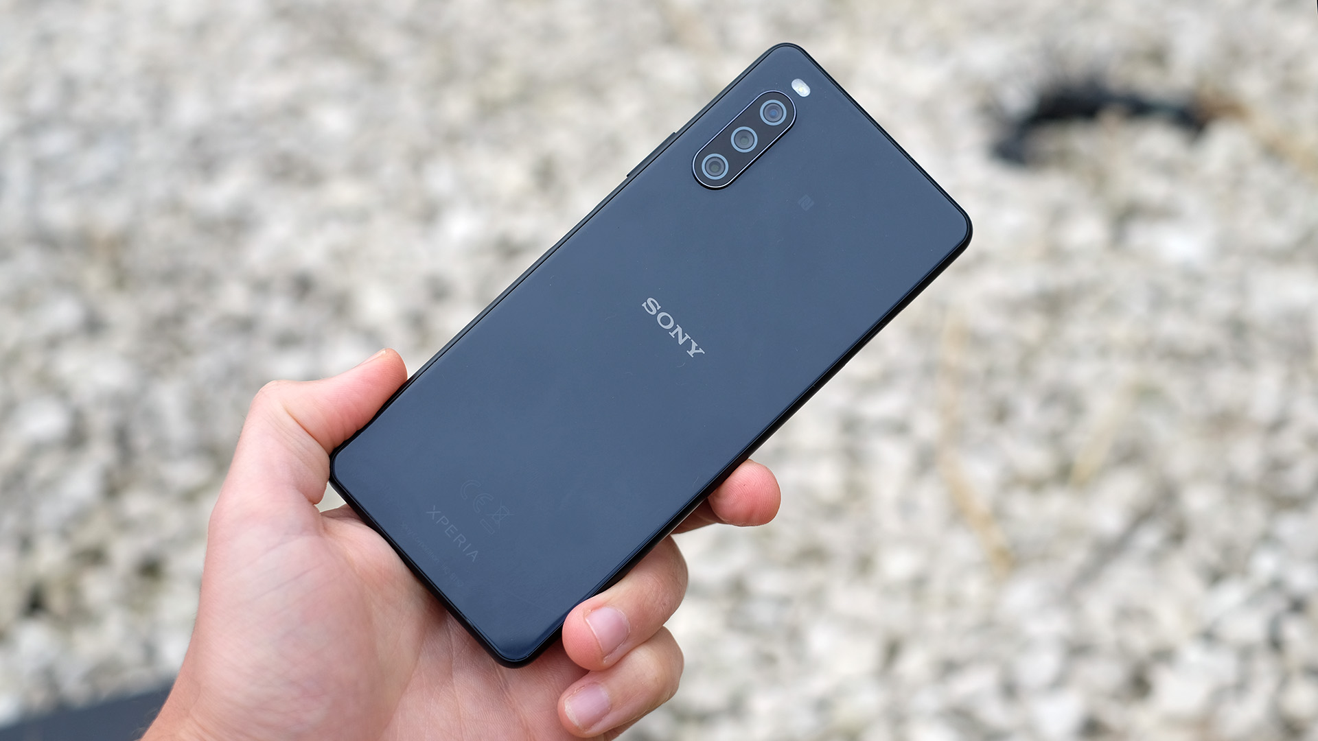 The back of the Sony Xperia 10 III