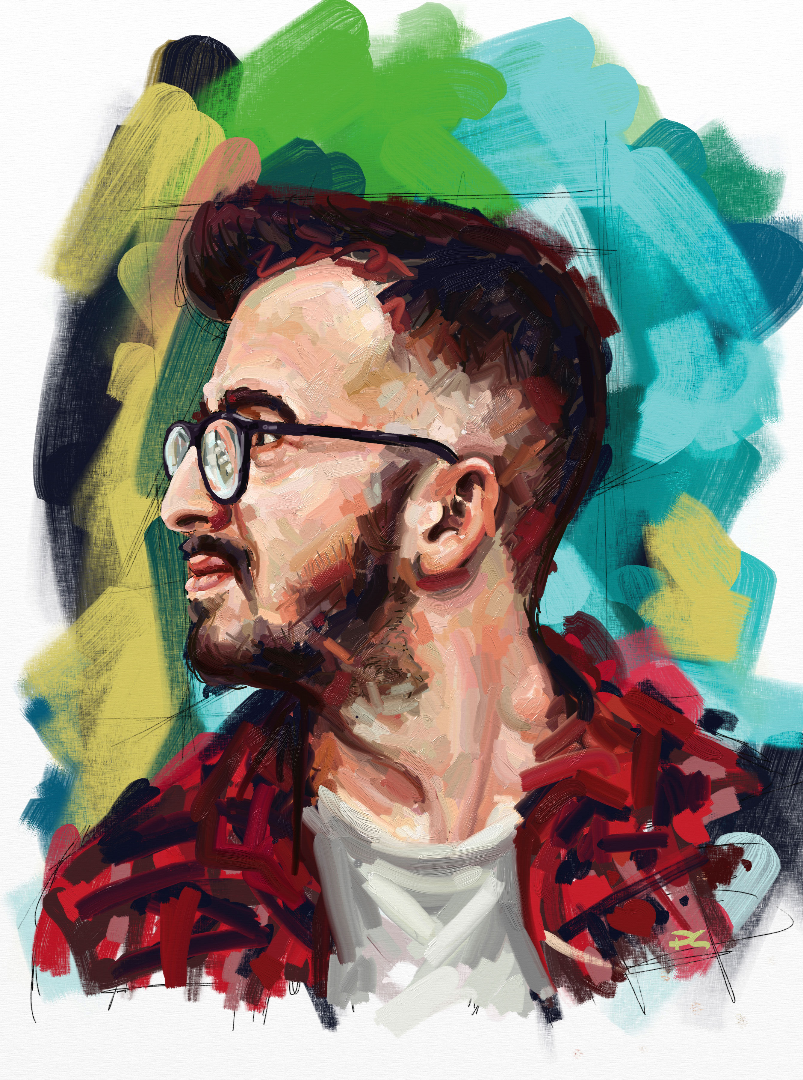 How to create a digital oil painting using artrage creative bloq baditri Image collections
