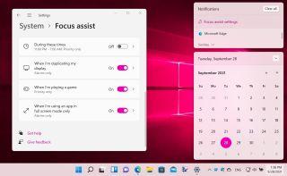 Focus Assist screenshot