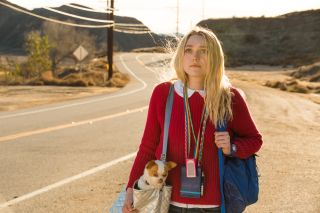 "Dakota Fanning stars in ""Please Stand By"""