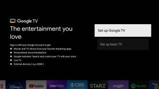 Google TV Basic TV