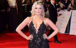 Lucy Fallon goes to her pole fitness class following Bethany Platt pole-dancing storyline