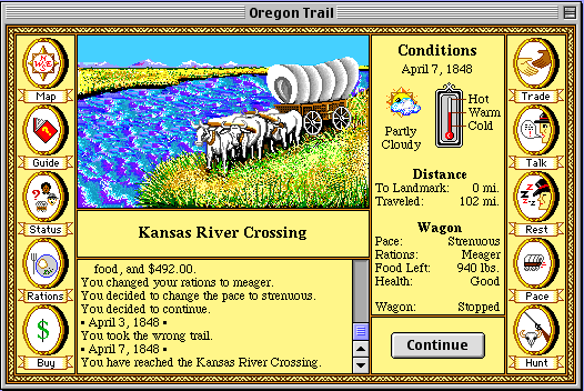 Great moments in PC gaming: Making it to Oregon in The Oregon Trail | PC Gamer