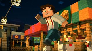 Minecraft Story Modes First Episode Is Now Free PC Gamer - Minecraft story mode kostenlos spielen pc
