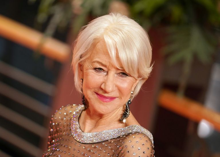 Helen Mirren arrives for the Homage Helen Mirren Honorary Golden Bear award ceremony during the 70th Berlinale International Film Festival Berlin at Berlinale Palace on February 27, 2020 in Berlin, Germany